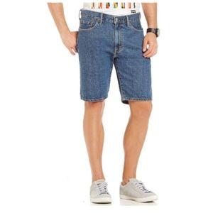 Levi's 505 Denim Regular Fit Jean Shorts Size 34